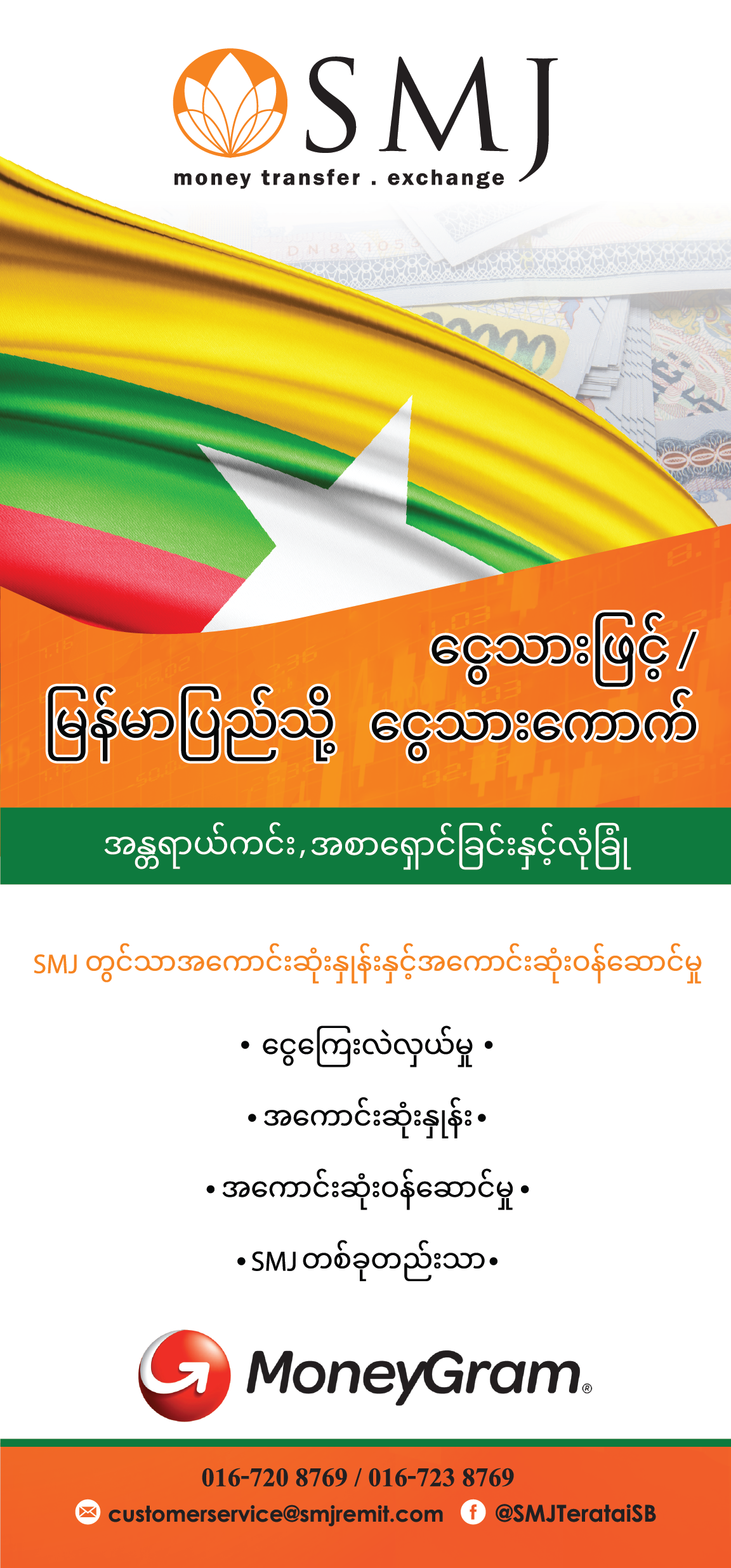 Send Money to Myanmar