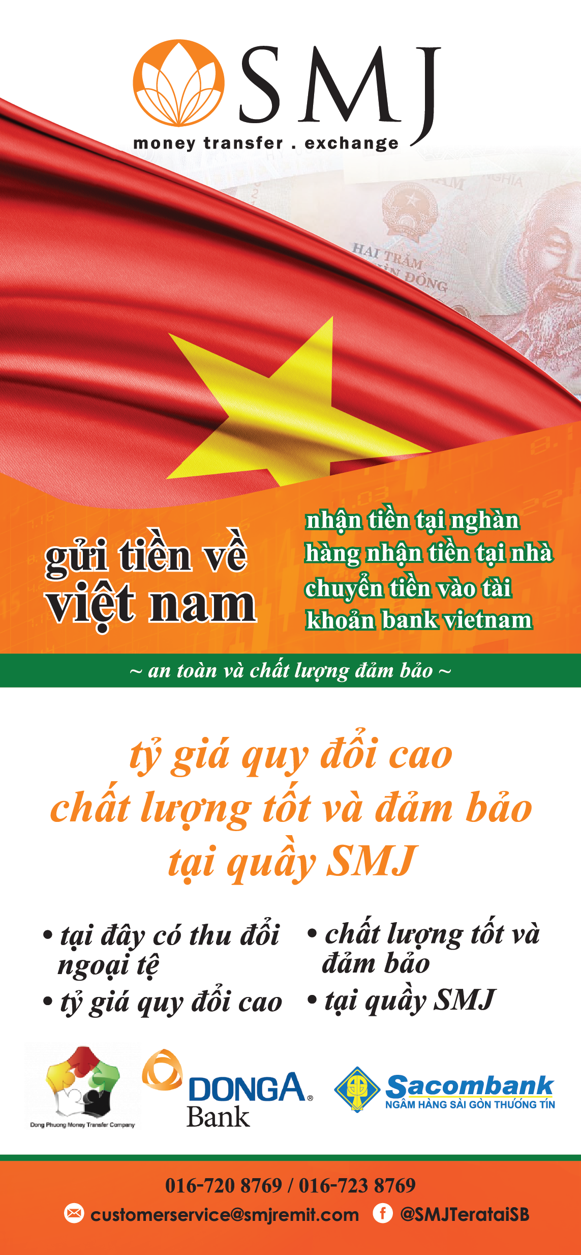 Send Money to Vietnam